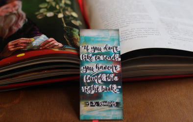 J.K. Rowling, right book quote Bookmark
