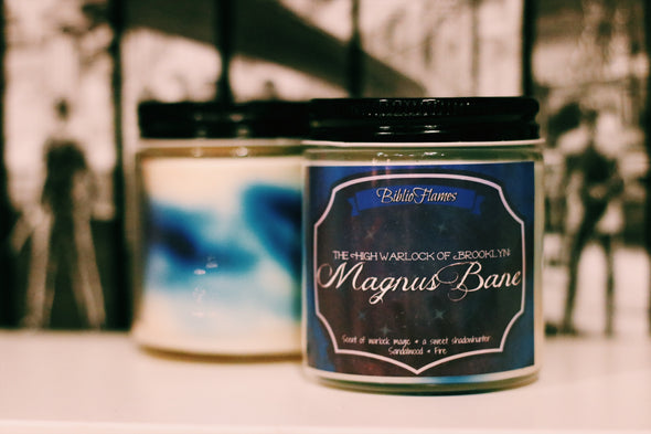 High Warlock Magnus TMI inspired candle!
