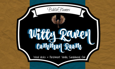 Witty Raven Common Room Soy Candle