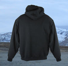 Torn Waders Black Fishing Hoodie Hoodie- Torn Waders