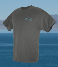 Ladder Deep Fishing T-Shirt - Smoke Gray