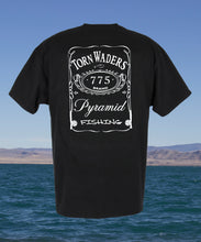 775 Label Fishing T-Shirt - Black Torn Waders