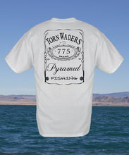 775 Label Fishing T-Shirt - White Torn Waders