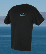 Ladder Deep Fishing T-Shirt - Black