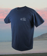 Torn Waders Fishing T-Shirt - Navy T-Shirts- Torn Waders