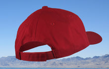 Red Twill Youth Fishing Hat