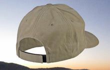 Khaki Brushed Cotton Brown Embroidered Fishing Hat Hat- Torn Waders