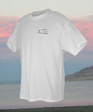 Torn Waders Fishing T-Shirt - White T-Shirts- Torn Waders