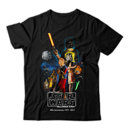 Ben Cooper. Star Wars 40th Anniversary Tee. :: Fashion, Apparel.