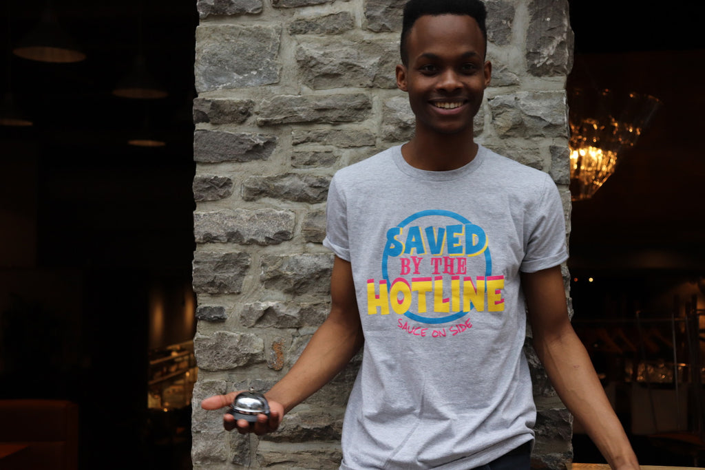 'Saved by the Hotline' Tee