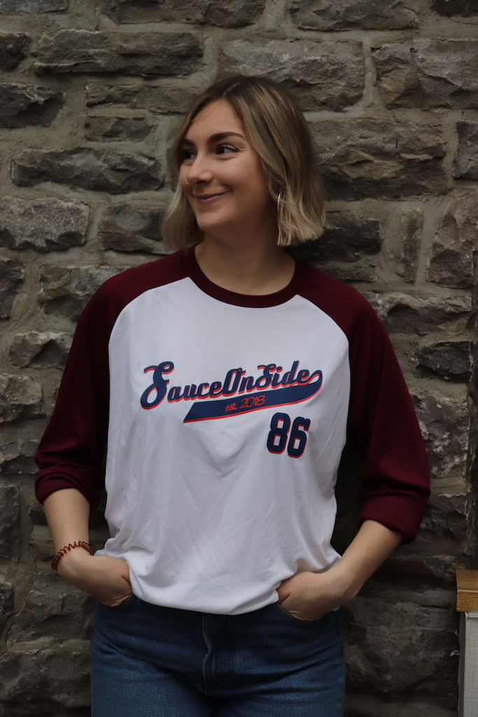 S/os '86' Baseball Tee 3/4 Length Sleeve