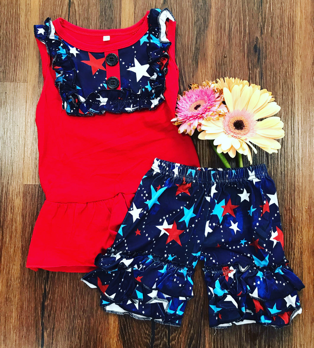 Stars 4th of July Outfit