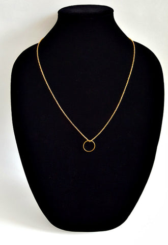 Gold Karma Layering Necklace