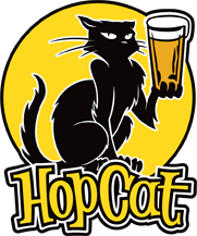 logo of HopCat (Louisville, Kentucky)- Sudsy Style - beer fashion for your beer passion