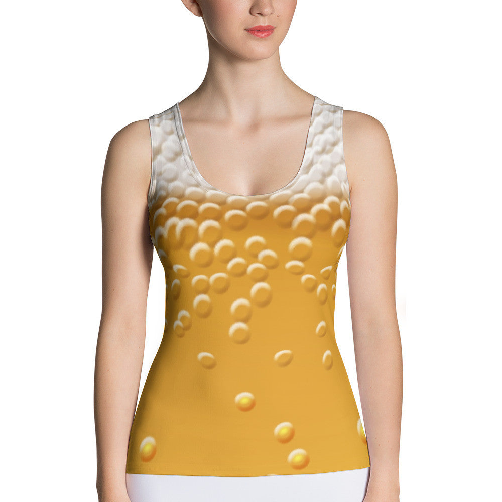 Beervana beer-themed tank top - Sudsy Style - beer fashion for your beer passion
