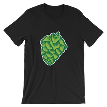 black men's Hop Cone beer-themed t-shirt - Sudsy Style - beer fashion for your beer passion