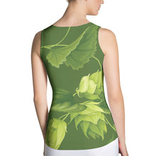 Hophead Beer themed hop tank top from Sudsy Style. - beer fashion for your beer passion