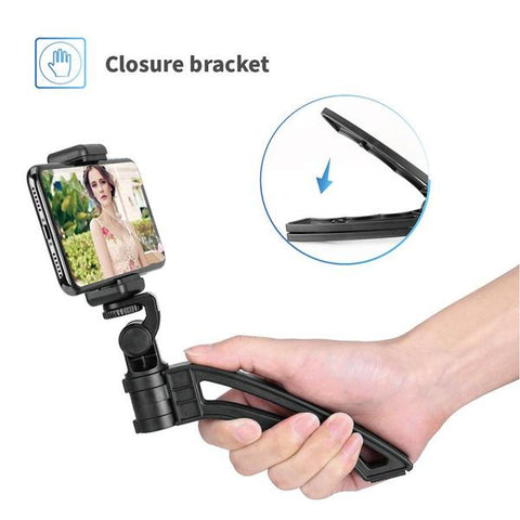 Compact Selfie Handheld Stable Tripod for Smartphone Camera DSLR