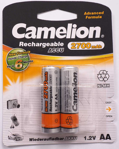 Camelion Rechargeable 2700mAh AA battery