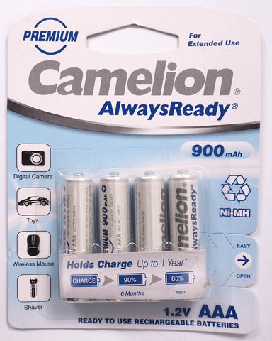 Camelion Always Ready 900mAh AAA batteries