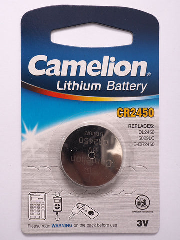Camelion CR2450 Lithium Battery