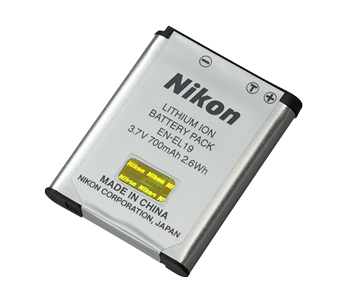 Nikon EN-EL19 Lithium-ion Rechargeable Battery