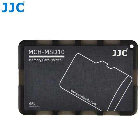 JJC Micro SD Memory Card Holder MCH-MSD10
