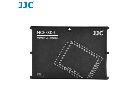 JJC SD Memory Card Holder MCH-SD4