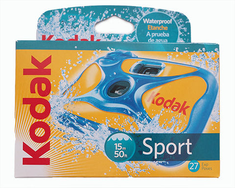 Kodak Single Use Camera Sport Waterproof 27 exposure