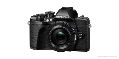 Olympus OM-D E-M10 III double lens kit (Black)