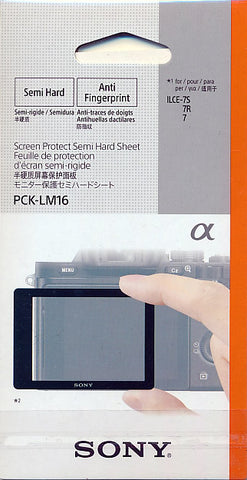 Sony Screen Protector PCK-LM16 for 7S, 7R, 7