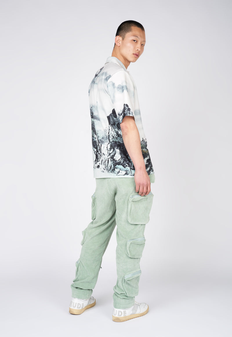 Landscape Waterpaint Short Sleeve