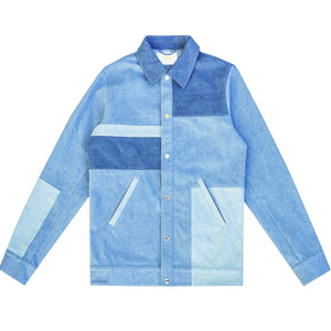 Patchwork Denim Jacket - Y.T.G