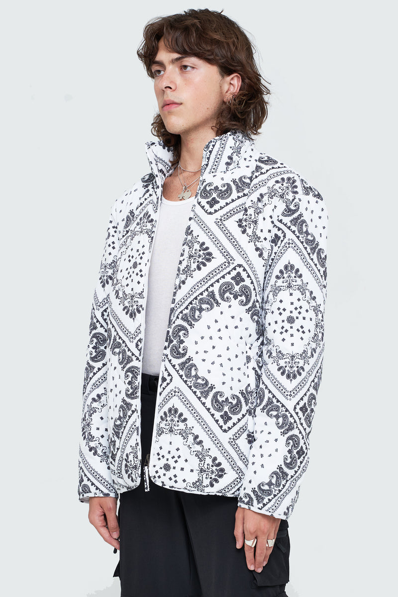 Paisley Patchwork Liner Jacket