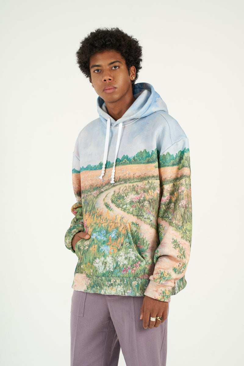 Summerfield Brushed Fleece Hooded Sweatshirt (Pre-order)