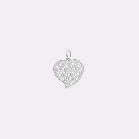 Breloque XOXO en argent sterling