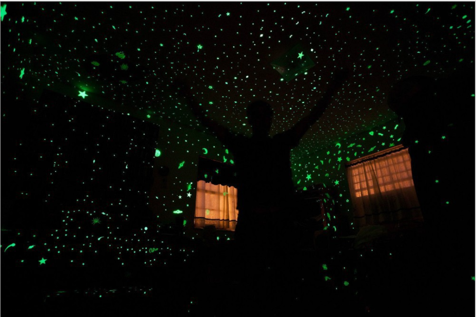 Glow In The Dark Wall Sticker, Beautiful Wall Decals, Perfect For Kids Room