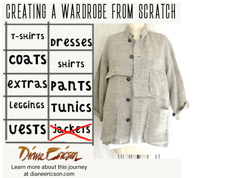 My Spring Linen Jacket-