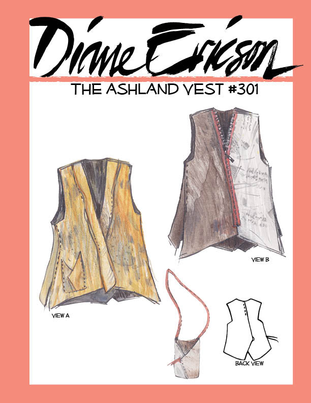 301 The Ashland Vest Paper Pattern
