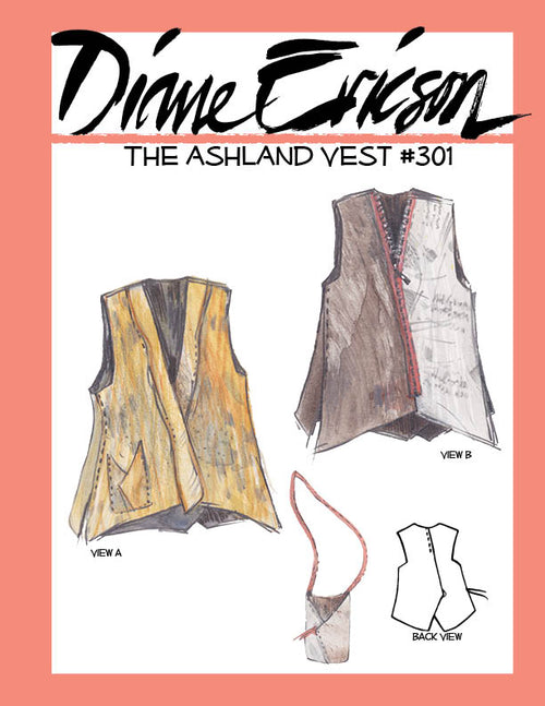 #301 - THE ASHLAND VEST - PAPER PATTERN