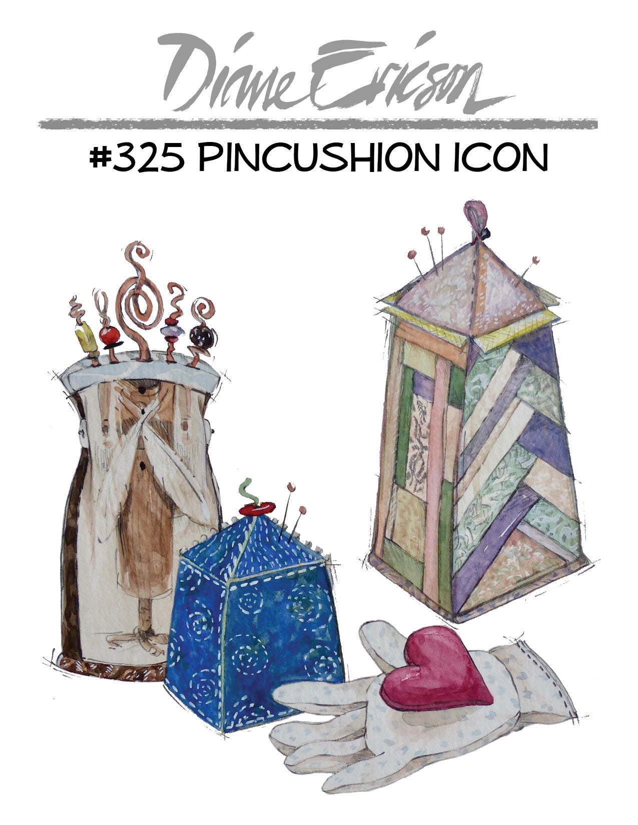 #325 - PINCUSHION ICONS - PDF PATTERN