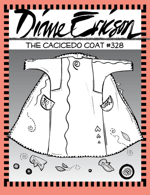 #328 - THE CACICEDO COAT - PAPER PATTERN
