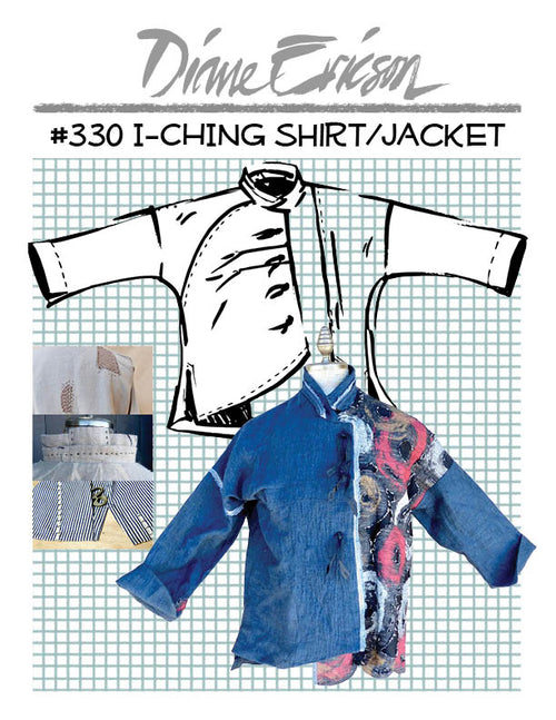 #330 I-CHING SHIRT/JACKET - PAPER PATTERN