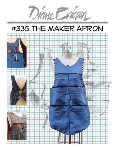 #335 - THE MAKER APRON - PAPER PATTERN
