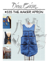 #335 - THE MAKER APRON - PDF PATTERN