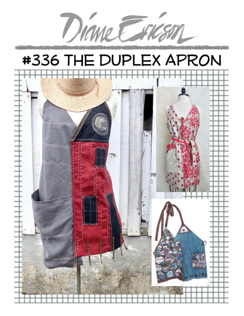 #336 THE DUPLEX APRON - PAPER PATTERN