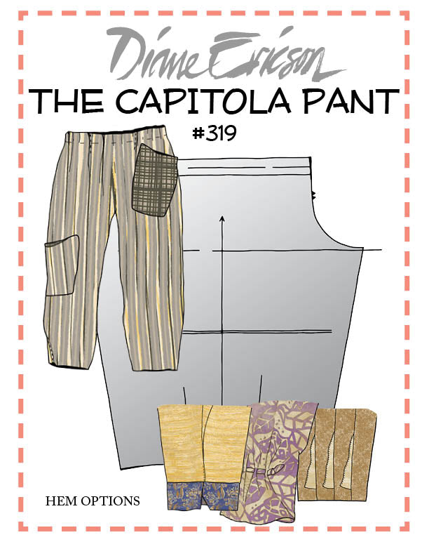 #319 - THE CAPITOLA PANT - PAPER PATTERN