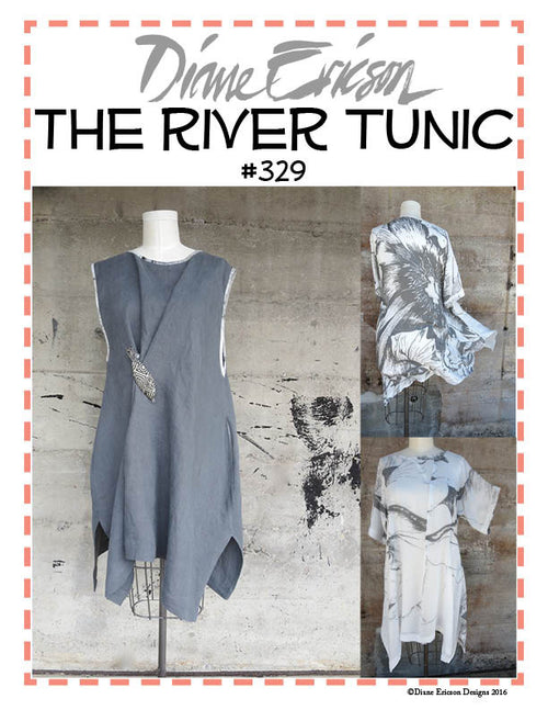 #329 THE RIVER TUNIC - PDF PATTERN