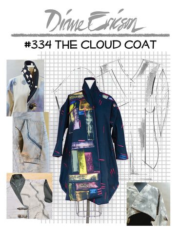 #334 - THE CLOUD COAT - PAPER PATTERN