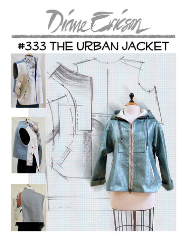 327 The Ventana Vest Jacket Paper Pattern Diane Ericson Design